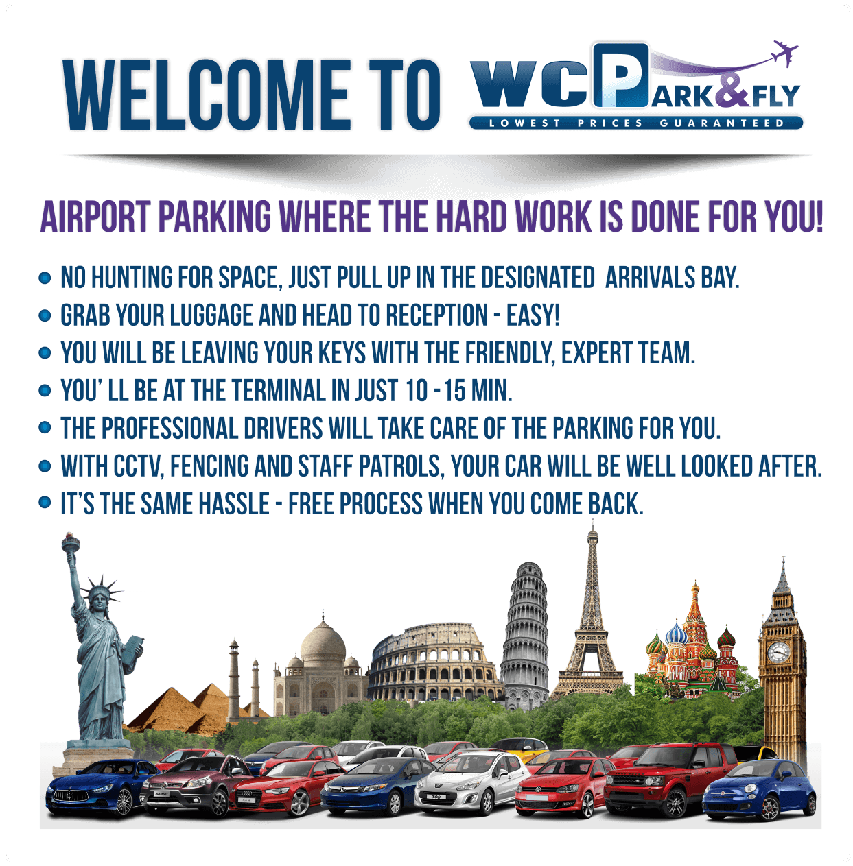 Bristol Airport Parking Wcp Park And Fly Bristol